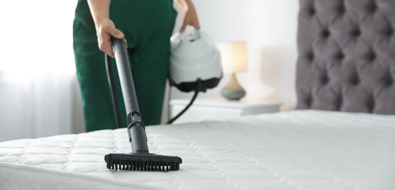 pulizia del materasso